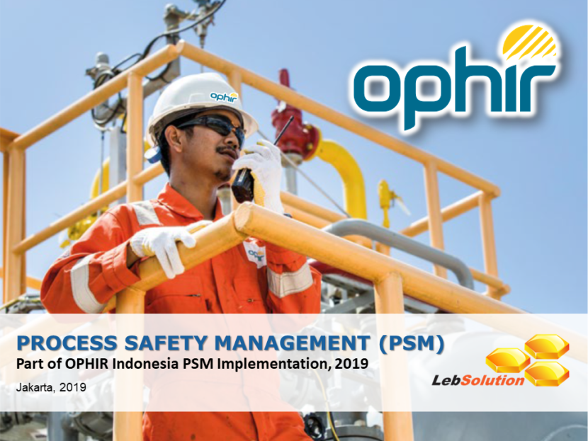 20190527 - LebSolution - OPHIR PSM Training 01