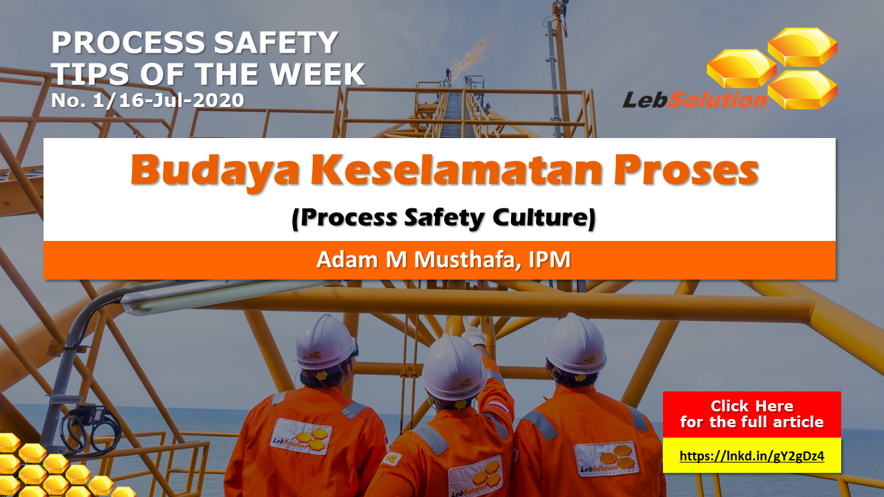 lebSolution - ADAM - Process Safety Culture 01