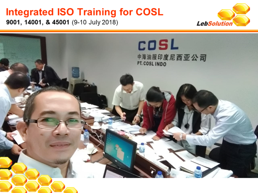 LebSolution - Integrated ISO for COSL-01