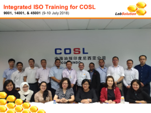 LebSolution - Integrated ISO for COSL-02