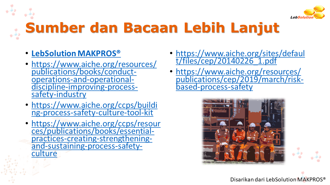 LebSolution - ADAM - Process Safety Culture 307